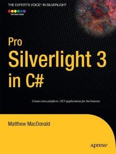 Pro Silverlight 3 in C#, 2/e (Paperback)-cover