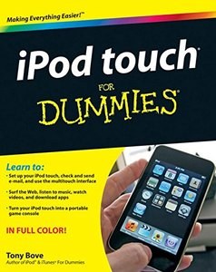 iPod touch For Dummies (Paperback)-cover