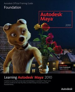 Learning Autodesk Maya 2010: Foundation (Paperback)-cover