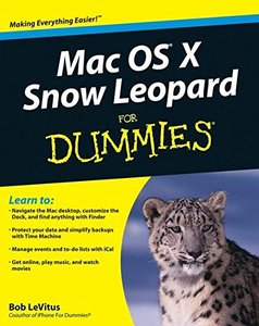 Mac OS X Snow Leopard For Dummies (Paperback)-cover