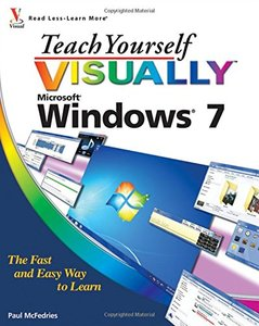 Teach Yourself VISUALLY Windows 7 (Paperback)-cover