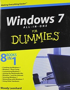 Windows 7 All-in-One For Dummies (Paperback)-cover