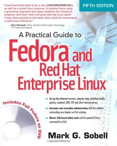 A Practical Guide to Fedora and Red Hat Enterprise Linux, 5/e (Paperback)-cover