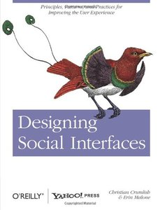 Designing Social Interfaces: Principles, Patterns, and Practices for Improving the User Experience (Paperback)-cover