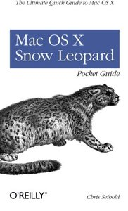 Mac OS X Snow Leopard Pocket Guide (Paperback)-cover