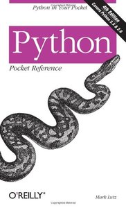 Python Pocket Reference, 4/e : Python in Your Pocket (Paperback)-cover