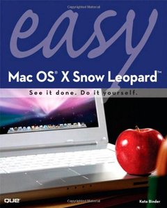 Easy Mac OS X Snow Leopard (Paperback)-cover