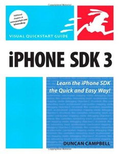 iPhone SDK 3: Visual QuickStart Guide (Paperback)-cover
