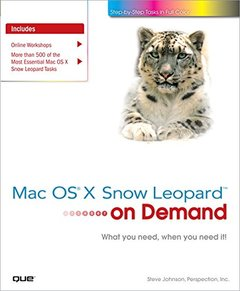 Mac OS X Snow Leopard On Demand (Paperback)-cover