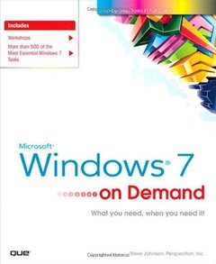 Microsoft Windows 7 On Demand (Paperback)-cover