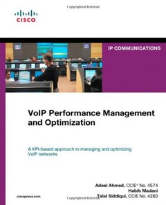 VoIP Performance Management and Optimization (Hardcover)-cover