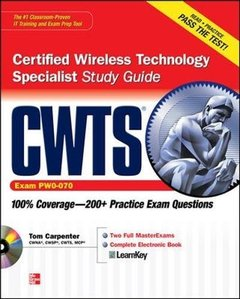 CWTS Certified Wireless Technology Specialist Study Guide (Exam PW0-070) (Paperback)-cover