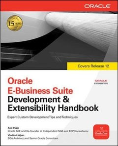 Oracle E-Business Suite Development & Extensibility Handbook (Paperback)-cover