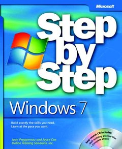 Windows 7 Step by Step (Paperback)-cover
