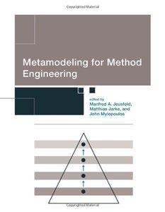 Metamodeling for Method Engineering (Hardcover)-cover