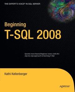 Beginning T-SQL 2008-cover