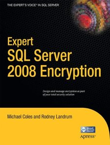 Expert SQL Server 2008 Encryption-cover