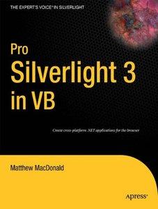 Pro Silverlight 3 in VB, 2/e (Paperback)-cover