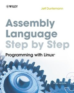 Assembly Language Step-by-Step: Programming with Linux, 3/e (Paperback)-cover