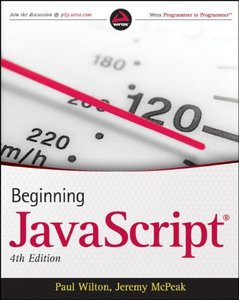 Beginning JavaScript, 4/e (Paperback)-cover