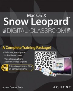 Mac OS X Snow Leopard Digital Classroom (Paperback)-cover
