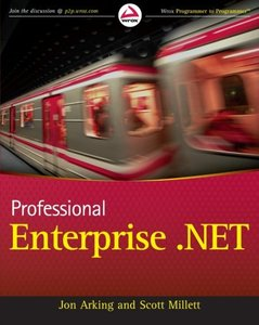 Professional Enterprise .NET (Paperback)-cover