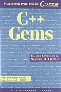 C++ Gems: Programming Pearls from The C++ Report (Paperback)-cover