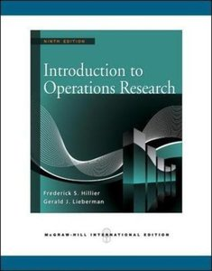 Introduction to Operations Research, 9/e (IE-Paperback) (美國版ISBN: 0077298349)-cover