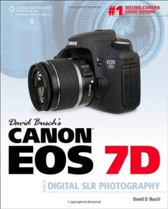 David Busch's Canon EOS 7D Guide to Digital SLR Photography (Paperback)-cover