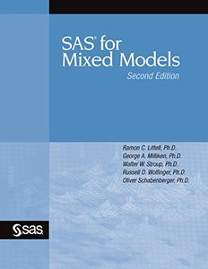 SAS for Mixed Models, 2/e (Paperback)