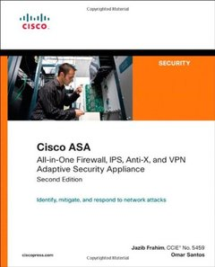 Cisco ASA: All-in-One Firewall, IPS, Anti-X, and VPN Adaptive Security Appliance, 2/e (Paperback)-cover