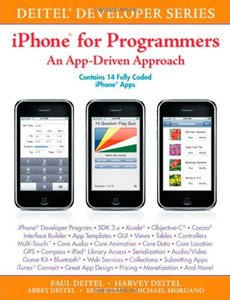 iPhone for Programmers: An App-Driven Approach (Paperback)-cover