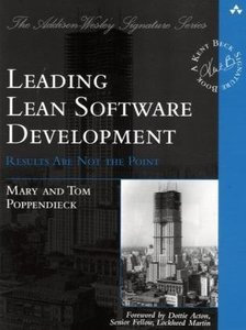 Leading Lean Software Development: Results Are not the Point (Paperback)-cover