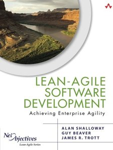 Lean-Agile Software Development: Achieving Enterprise Agility (Paperback)-cover