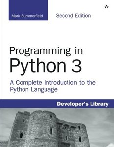 Programming in Python 3: A Complete Introduction to the Python Language, 2/e (Paperback)-cover
