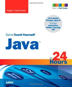 Sams Teach Yourself Java in 24 Hours, 5/e (Paperback)-cover