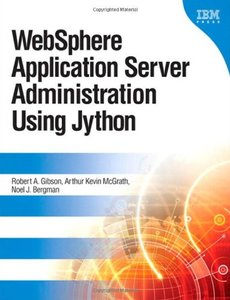 WebSphere Application Server Administration Using Jython (Hardcover)-cover