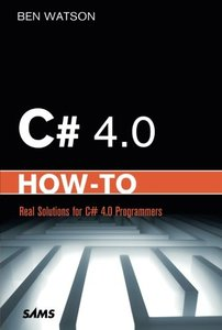 C# 4.0 How-To (Paperback)-cover