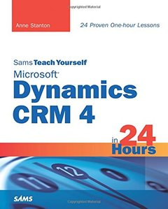 Sams Teach Yourself Microsoft Dynamics CRM 4 in 24 Hours (Paperback)-cover