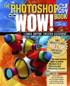The Photoshop CS3/CS4 Wow! Book, 8/e (Paperback)-cover