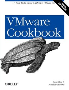 VMware Cookbook: A Real-World Guide to Effective VMware Use (Paperback)-cover