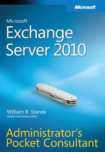 Microsoft Exchange Server 2010 Administrator s Pocket Consultant (Paperback)-cover