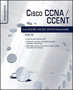 Cisco CCNA/CCENT Exam 640-802, 640-822, 640-816 Preparation Kit (Paperback)-cover