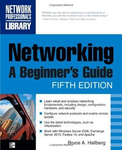 Networking: A Beginner's Guide, 5/e (Paperback)-cover