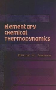 Elementary Chemical Thermodynamics (Paperback)-cover