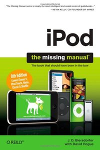 iPod: The Missing Manual, 8/e (Paperback)-cover
