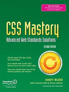 CSS Mastery: Advanced Web Standards Solutions, 2/e (Paperback)-cover