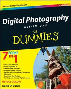 Digital Photography All-in-One Desk Reference For Dummies, 4/e (Paperback)-cover