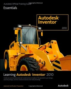 Learning Autodesk Inventor 2010 (Paperback)-cover