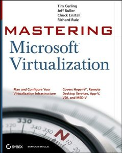 Mastering Microsoft Virtualization (Paperback)-cover